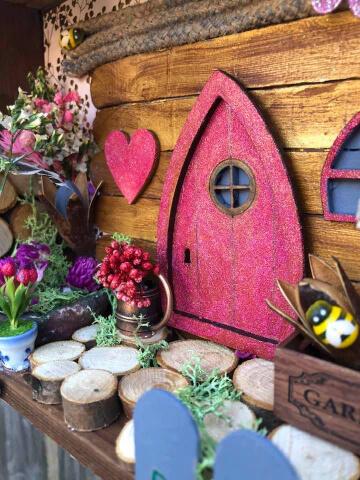 """Miniature Garden"" Assemblage by Emma Mullender"