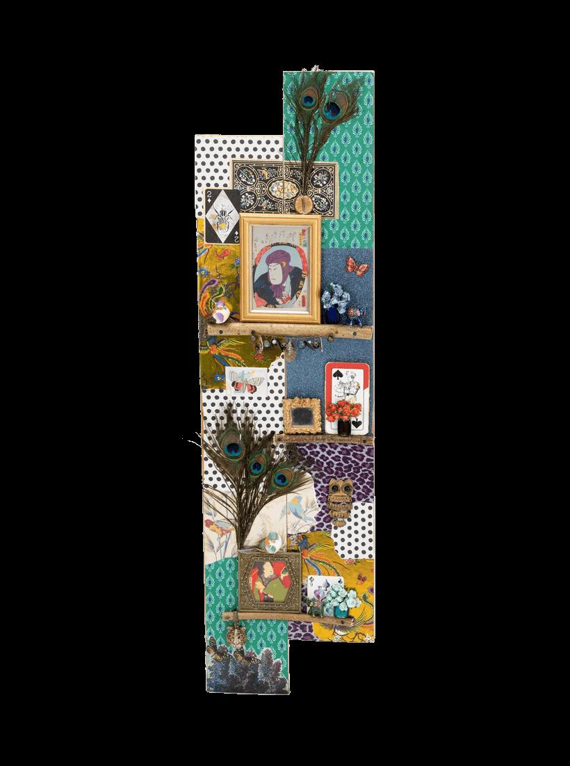 """""""Oriental Garden"""" Assemblage by Emma Mullender"""