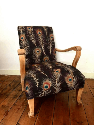 """""""Woof Framed Armchair"""" Traditional Upholstery by Emma Mullender"""
