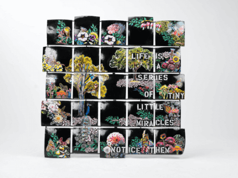"""""""Life is a Series of Tiny Little Miracles"""" Collage by Emma Mullender"""