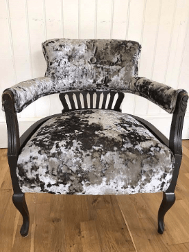 Victorian Horse Shoe Traditional Upholstery by Emma Mullender