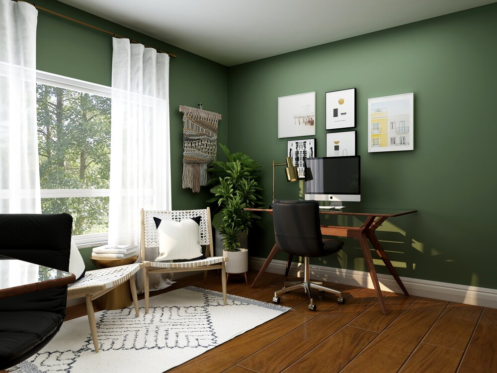 """Dual function room"" Interior design blog by Emma Mullender"