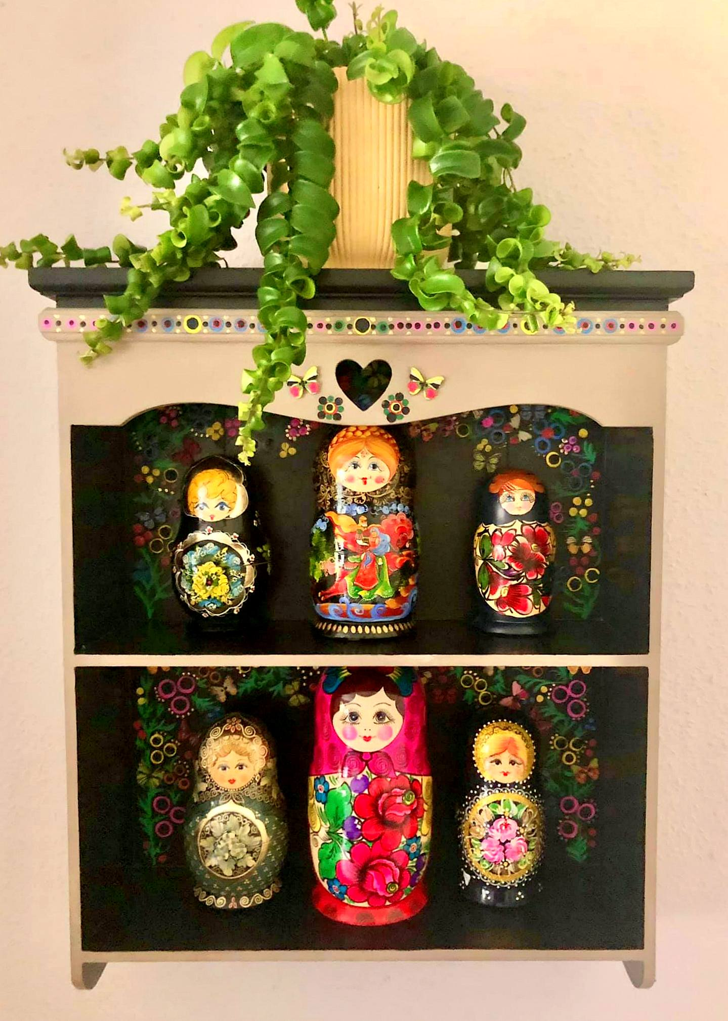 """""""Upcycled Russian Doll House"""" by Emma Mullender"""